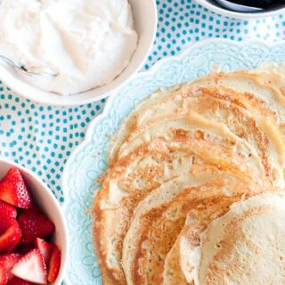 Gluten-Free Crepes (Norskie -- Russian Crepes)