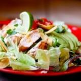 Fiesta Lime Chicken Salad (Applebee's Copycat) - www.PerrysPlate.com