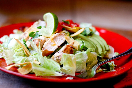 Fiesta Lime Chicken Salad | Whole30 recipes | paleo recipes | perrysplate.com