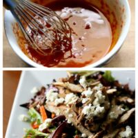 Balsamic Grilled Chicken Salad with Sun-Dried Tomato Vinaigrette
