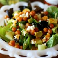 Spicy Buffalo Chickpea Salad