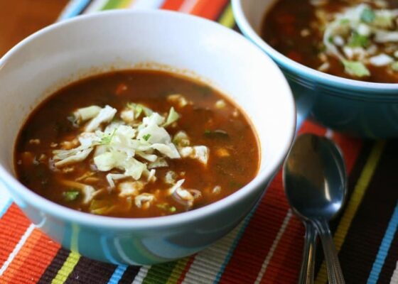 Customizable Tortilla Soup | soup recipes | paleo recipes | Whole30 recipes | perrysplate.com