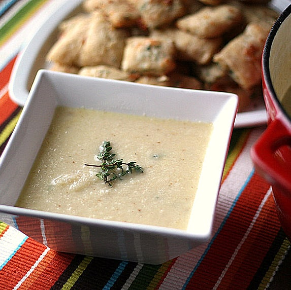 Cauliflower And White Cheddar Soup With Dill Recipes — Dishmaps