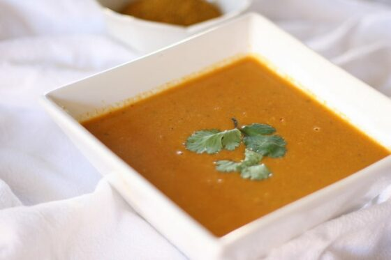 Mulligatawny | soup recipes | gluten-free potatoes | chicken soup recipes | perrysplate.com