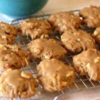 Maple-Glazed Apple Cookies
