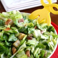 Roasted Potato Salad with Parmesan-Herb Dressing
