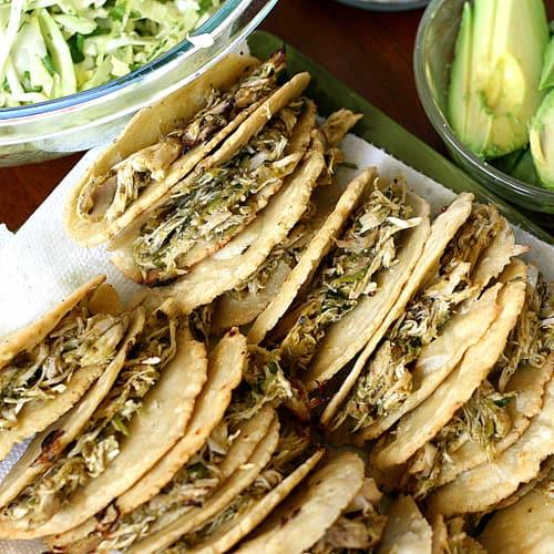 Overnight Oven-Braised Shredded Pork Tacos Recipe — Dishmaps