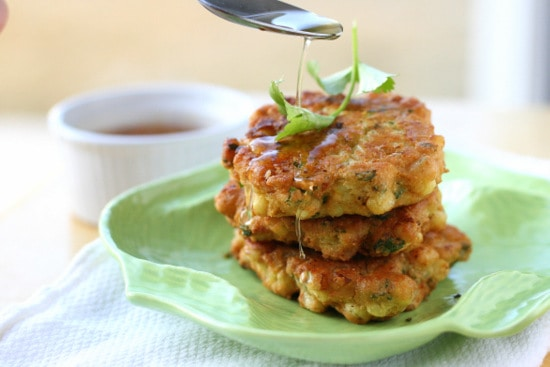zucchini and corn fritters rule the world for reals spicy corn