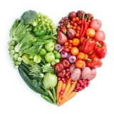 Veg in a heart