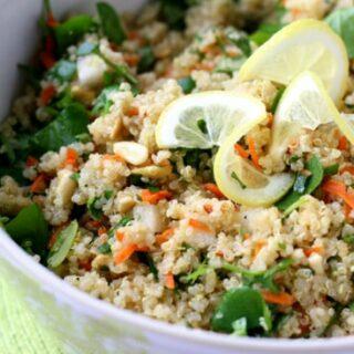 Sweet Lemon-Herb Quinoa Salad