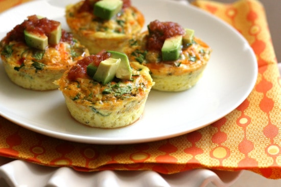 Customizable Omelet Cups | Paleo recipes | Whole30 recipes | meal prep | perrysplate.com