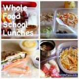 Whole Food School Lunches - www.PerrysPlate.com