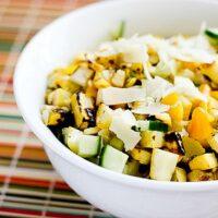 Grilled Summer Squash Salad