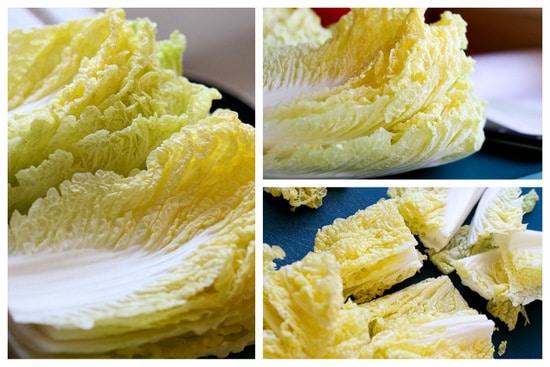 Homemade Kimchi | kimchi recipes | fermenting recipes | cabbage recipes | Korean recipes | perrysplate.com