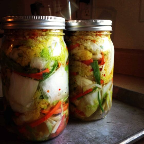 Homemade Kimchi | kimchi recipes | fermenting recipes | cabbage recipes | Korean recipes | perrysplate.com
