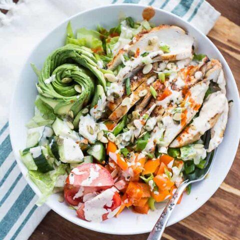 Fiesta Lime Chicken Salad