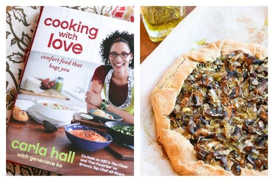 Rustic Mushroom Tart | Gluten-free option | mushroom recipes | vegetarian recipes | perrysplate.com