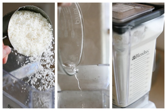 How to make coconut milk using your blender!   PerrysPlate.com