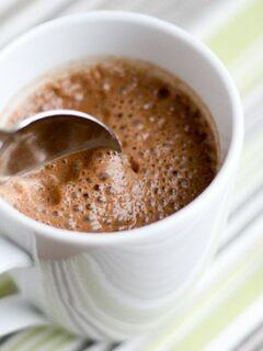 Dairy-Free, Naturally-Sweetened Hot Chocolate - www.PerrysPlate.com