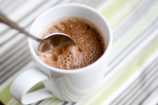 Dairy-Free, Naturally-Sweetened Hot Chocolate - www.PerrysPlate.com