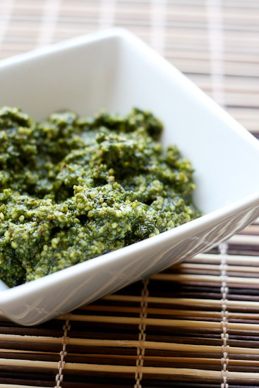 Basil-Almond Pesto
