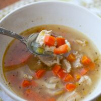 Cold Remedy Chicken Soup