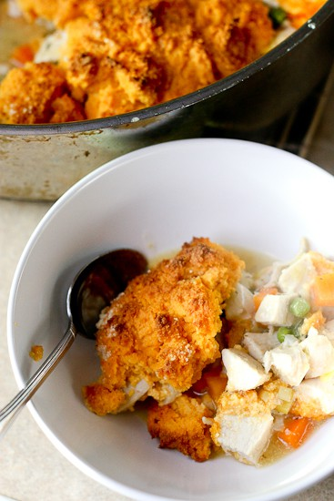 Chicken Pot Pie With Sweet Potato Biscuits Paleo Recipes Dairy Free Recipes