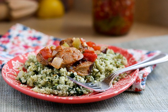 italian-sausage-cauliflower-rice
