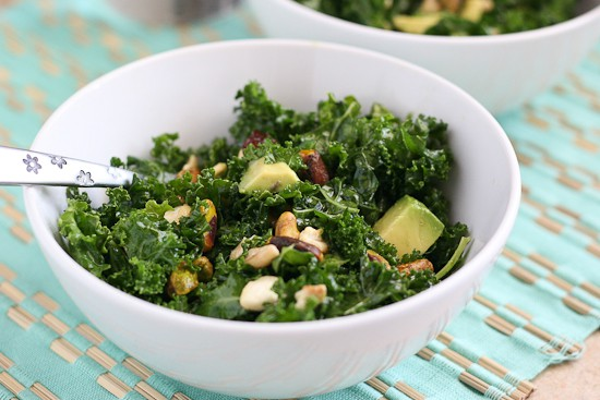Massaged Kale Salad | Perrysplate.com