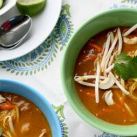 Thai Coconut Curry Soup (Chicken Khao Soi)