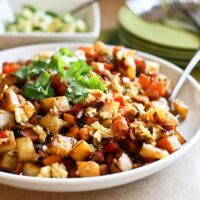 Sweet Potato and Bacon Breakfast Hash