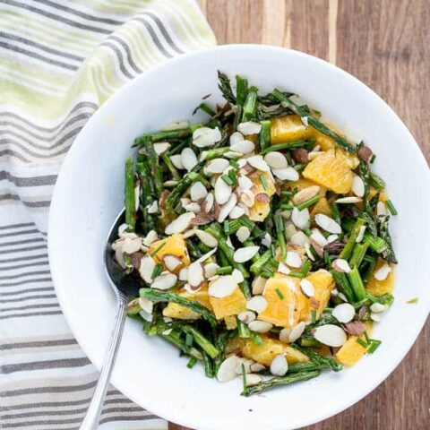 Grilled Asparagus and Orange Salad