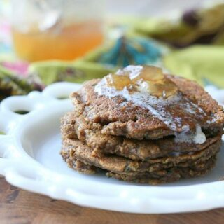 Gingerbread Zucchini Pancakes