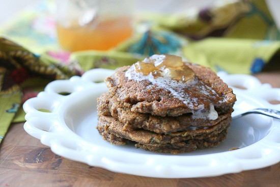 Gingerbread Zucchini Pancakes-5