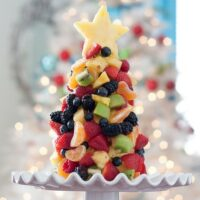 Tasty Kitchen Blog Fruit Christmas Tree 1