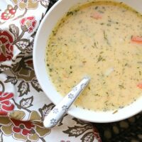 Dill Turkey Chowder with Sweet Potatoes