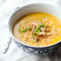 Paleo Butternut Squash Soup (Indian Style)
