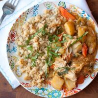 Slow Cooker Thai Chicken Stew-3