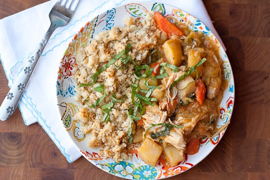 Slow Cooker Thai Chicken Curry - www.PerrysPlate.com