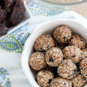 Homemade Blueberry Muffin Larabars (Paleo)