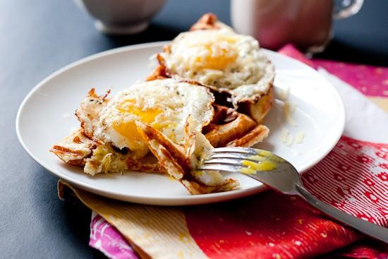 Gluten-Free Hot Dog Waffles | www.perrysplate.com