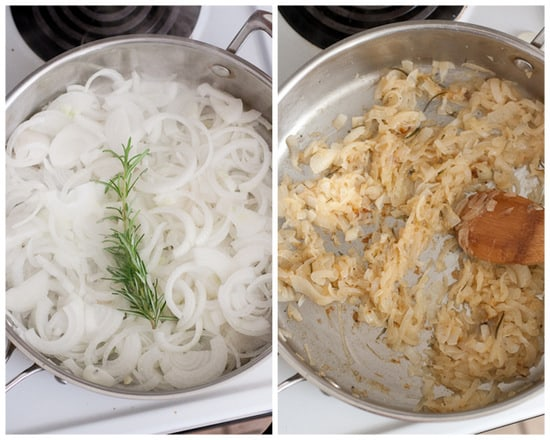 Rosemary Caramelized Onions