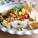 Tasty Kitchen Blog Grilled Brie with Grilled Corn and Mango Salsa 16