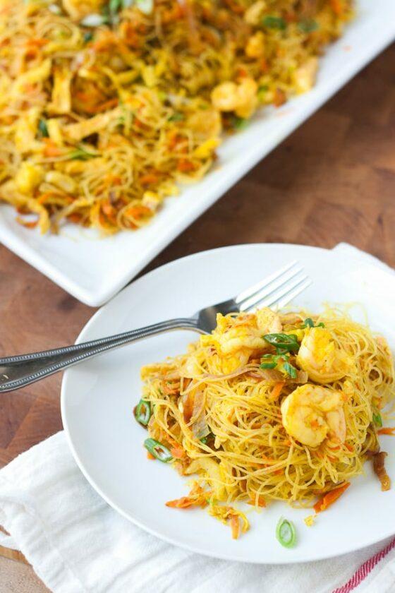 Tasty Kitchen Post Singapore Noodles (Singapore Mei Fun)-24