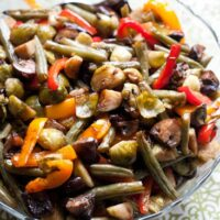 Balsamic Roasted Vegetables-3