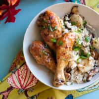 Yuzu Kosho-Glazed Chicken Drumsticks