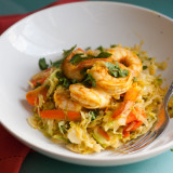 Thai Shrimp and Vegetable Skillet-1