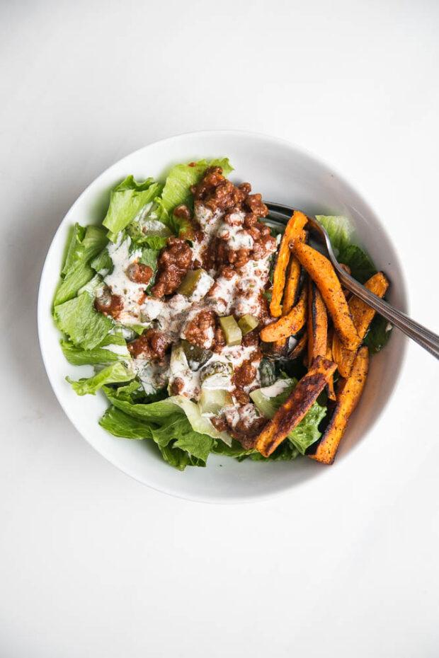 Salad Joe aka Sloppy Joe Salad -- Paleo Meal Plans