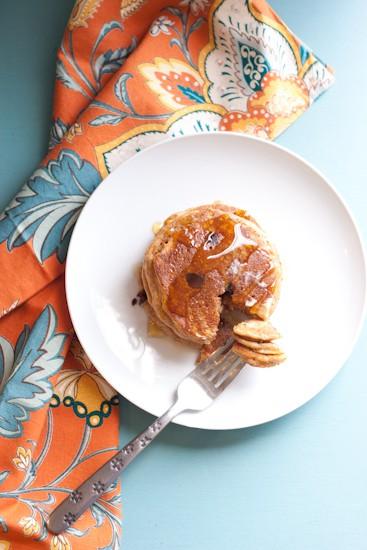 Gluten-Free Chocolate Chip Sweet Potato Pancakes