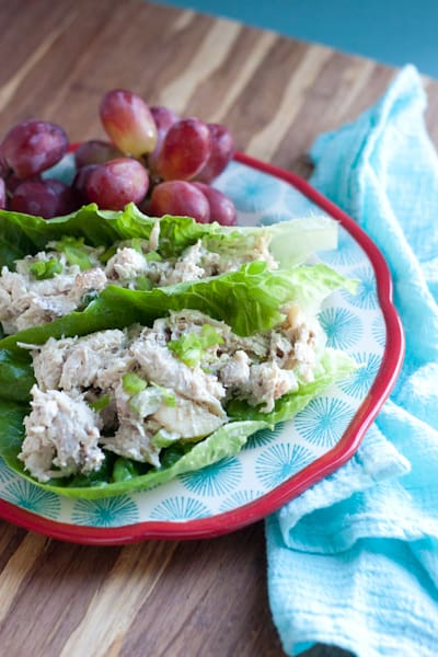 Easy Rotisserie Chicken and Apple Salad